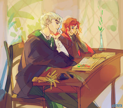 Crushes are harder than herbology