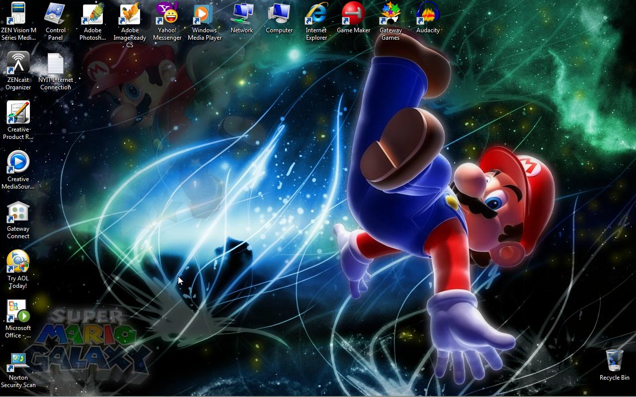 Super Mario Galaxy Wallpapers: Super Mario Galaxy Wallpaper By NYAssassin On DeviantArt