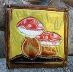 Small Mushrooms Tile