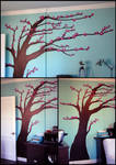 Blossoming Tree Mural