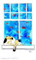 She Dreams of Little Fishes