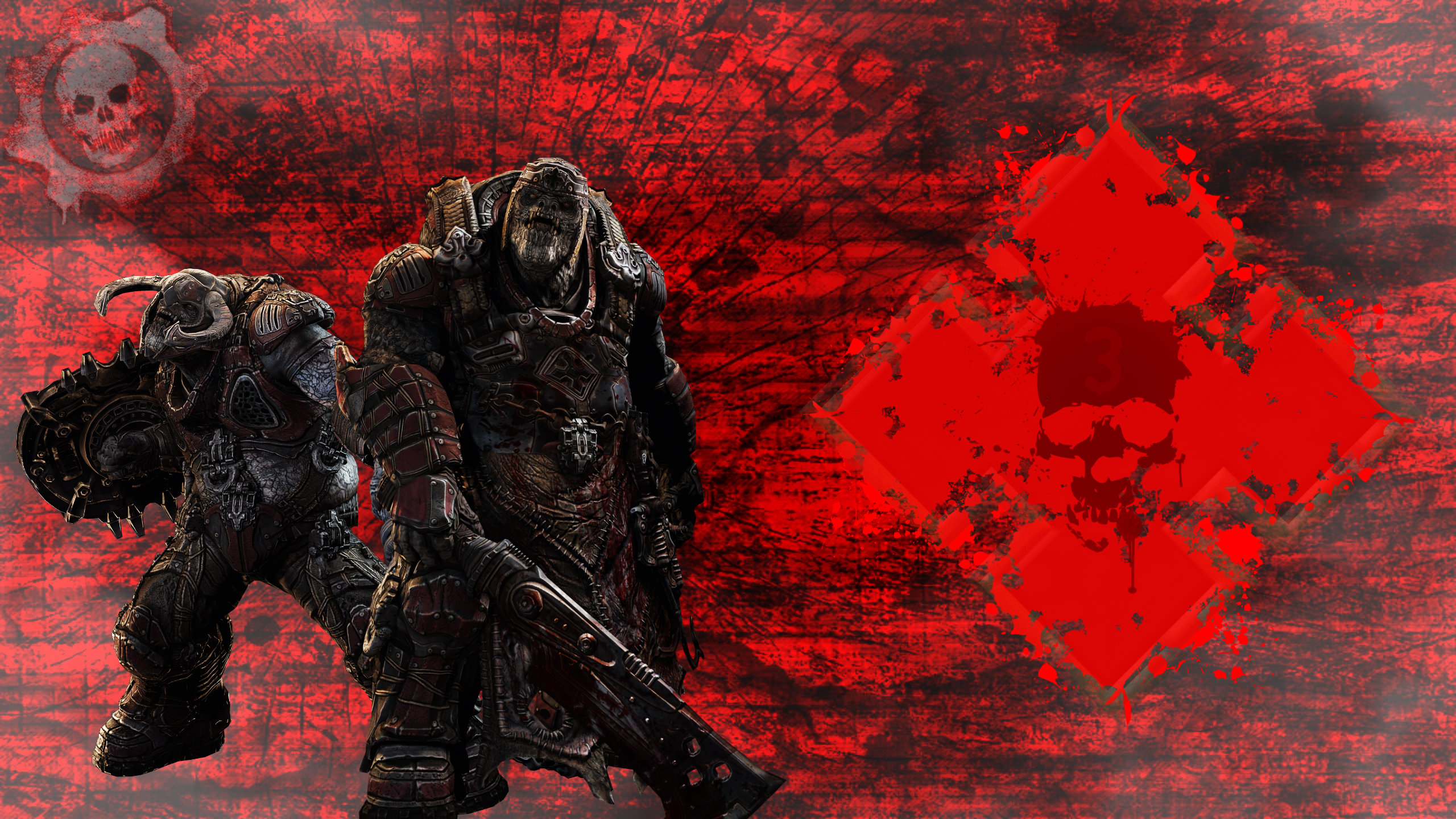 Gears Of War Locust Wallpaper By 5t3v3nm On Deviantart
