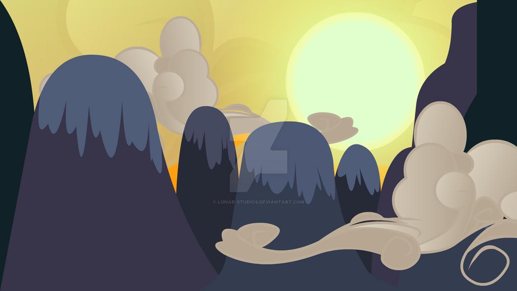 Equestrian Mountains Vector by Lunar-Studios