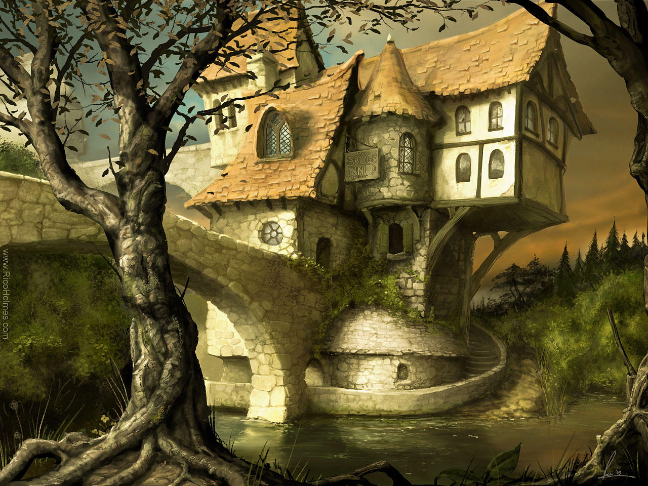 The Bridge Inn by reeks