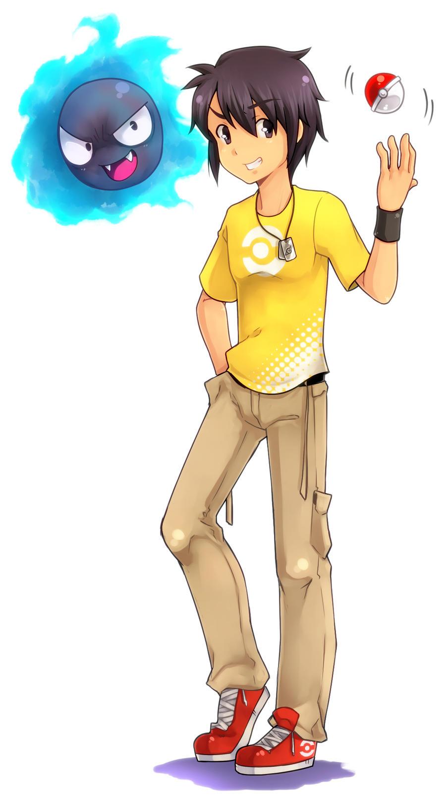 Endou Mamuro Pokemon_trainer__me__by_t0ei-d4ttxoh