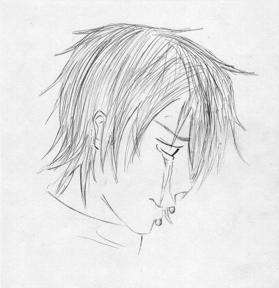 Crying Boy By Cherrywa On DeviantArt
