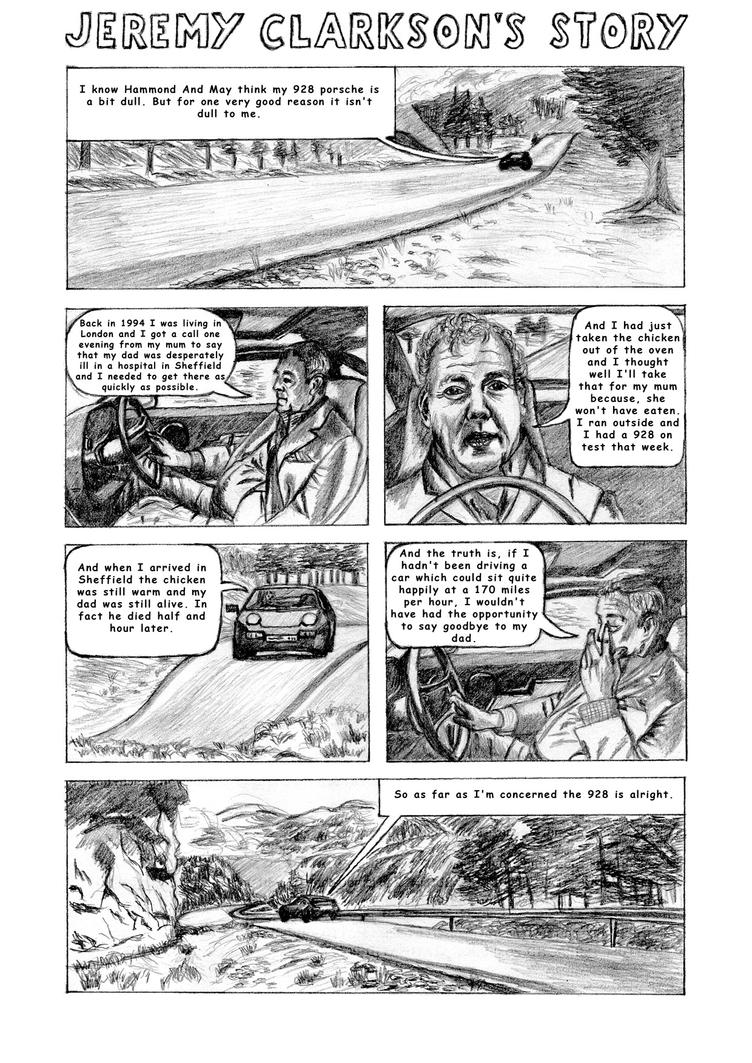 Jeremy Clarkson's story comics by bulbpuls