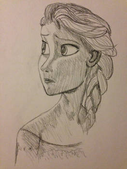 Sketched Elsa
