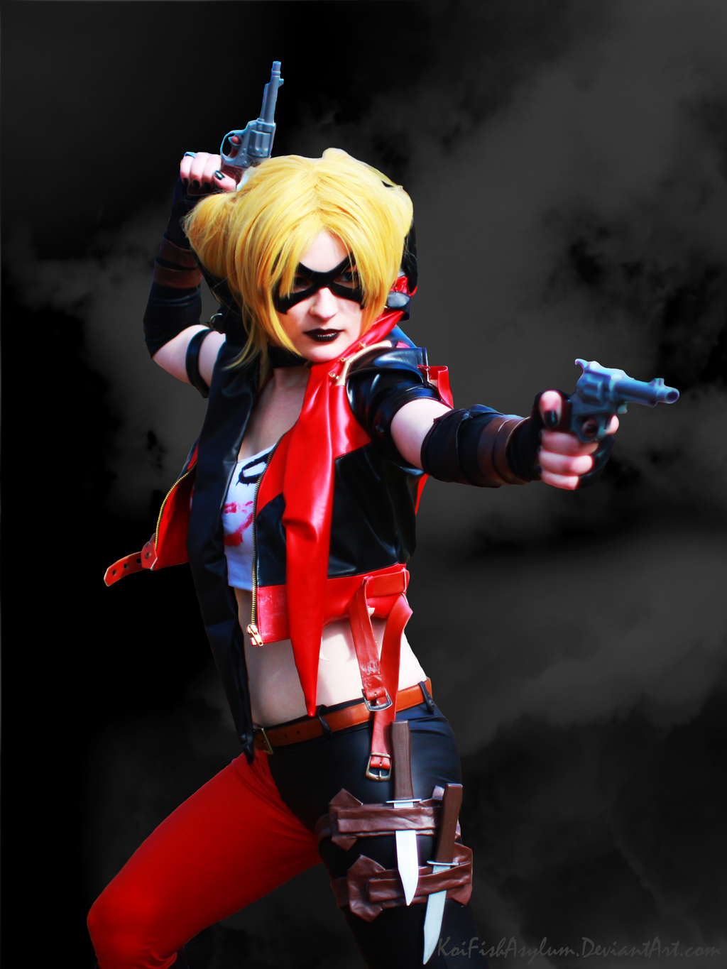 Harley Quinn Injustice Gods Among Us By KoiFishAsylum
