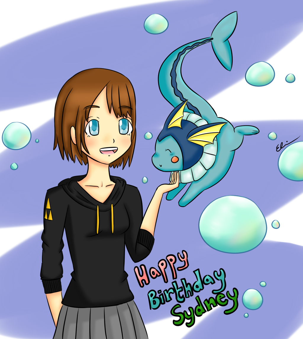 Happy Birthday Sydney By SoftCalamari On DeviantART