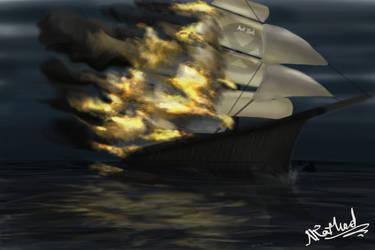 Burning Ship by NikhilRathod