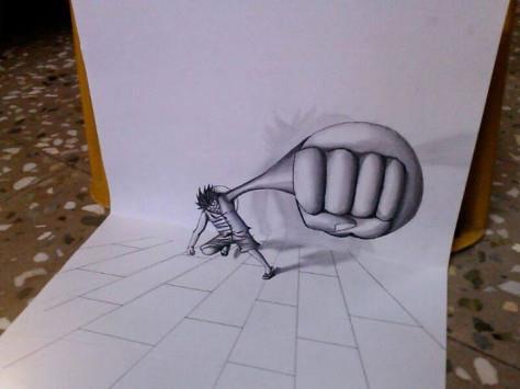 One piece - 3D Luffy (Gear third) by NikhilRathod on ...