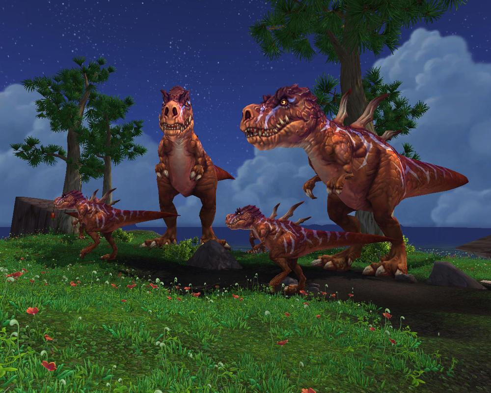 t rex family by alonewolf99 on deviantart