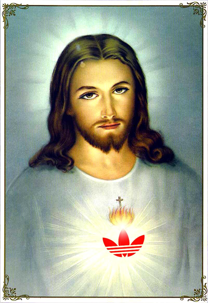 Jesus loves Adidas
