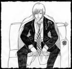 Gotei 13 - taicho - Ichimaru Gin by beniyorunii