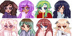 Cozy Pixel Icon Batch by Galaxywitchsona