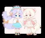 [C] Chibi Cuties by Galaxywitchsona