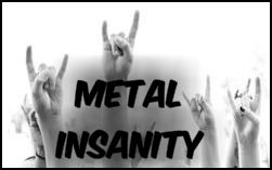 small logo for Metal Insanity by BlazeTucson