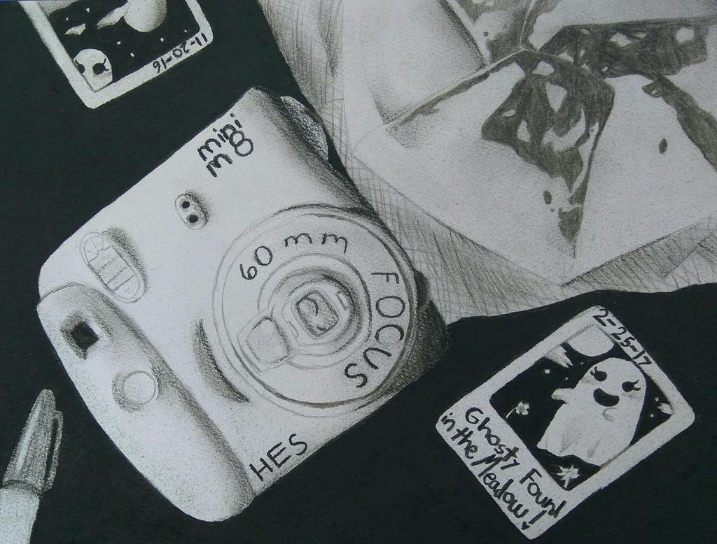 Camera and CrunchWrap by HESEuthyphro