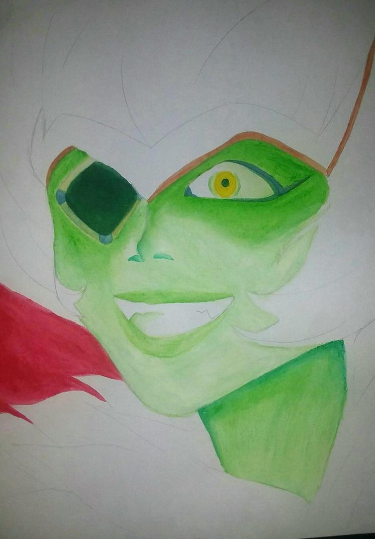 Manic Emerald (WIP) by HESEuthyphro
