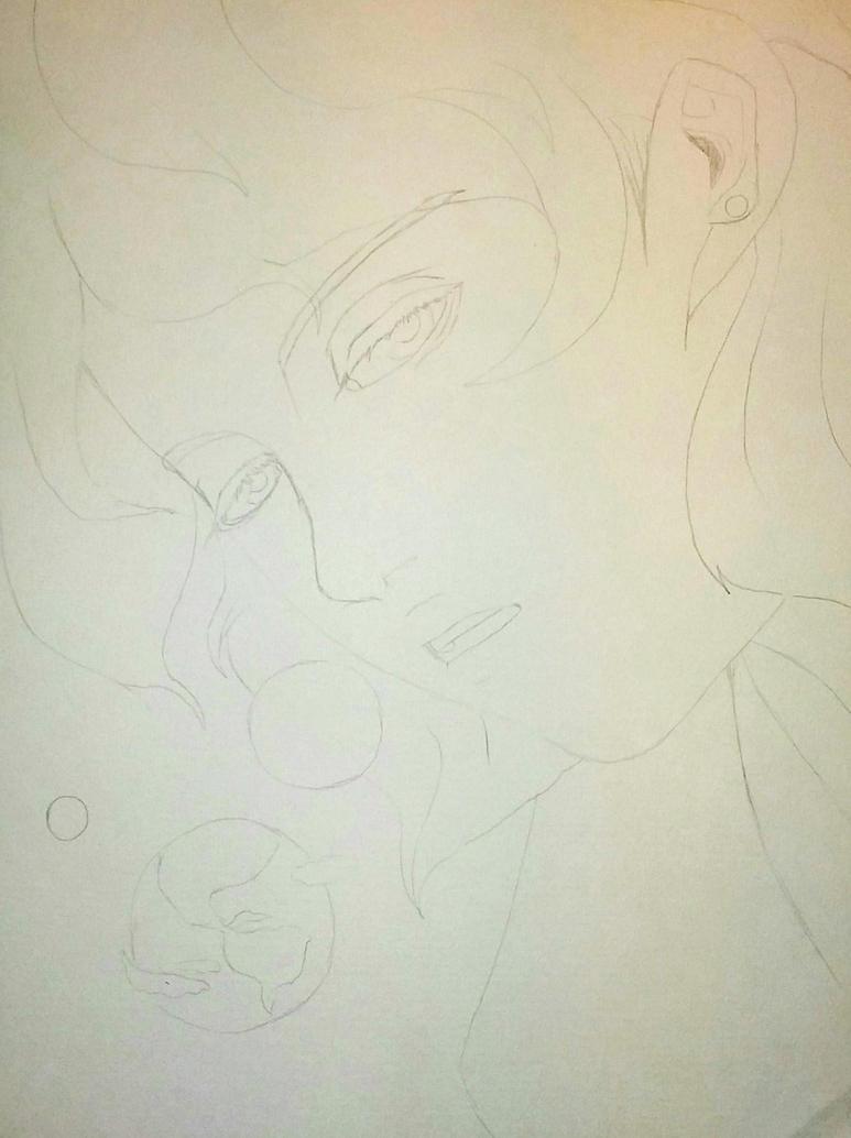 Pink Diamond Sketch by HESEuthyphro