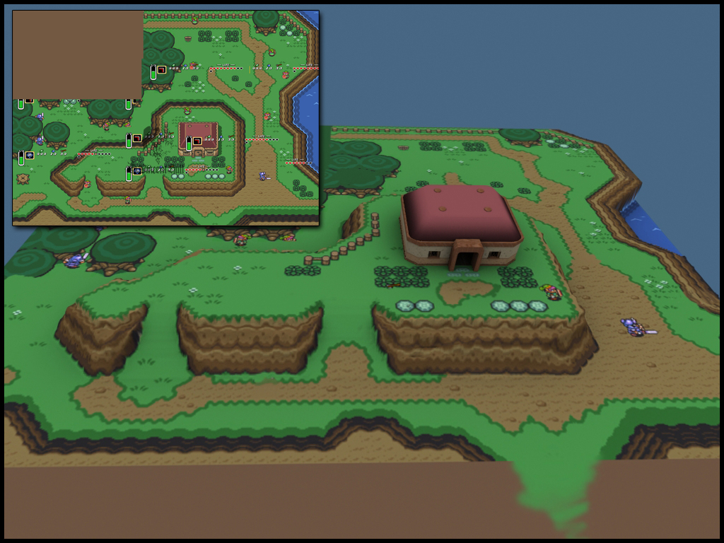 A Link to the Past 3D by Gnawl on DeviantArt