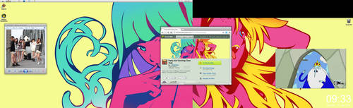 My desktop by Uncutrok