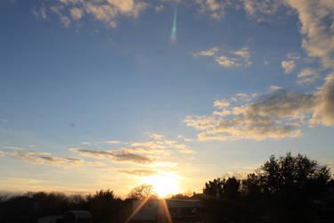 sunset by Uncutrok