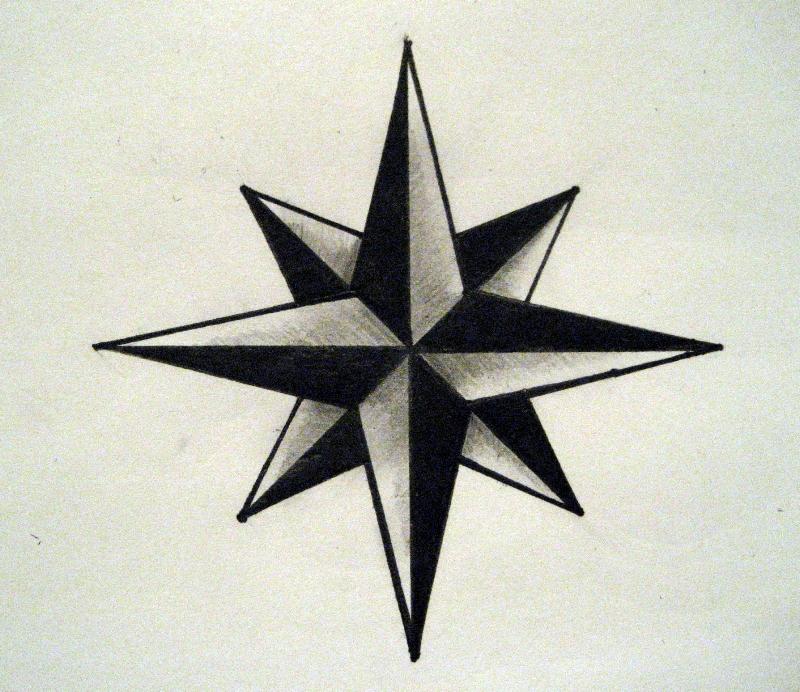 old nautical star by gaemeu on deviantart. Black Bedroom Furniture Sets. Home Design Ideas
