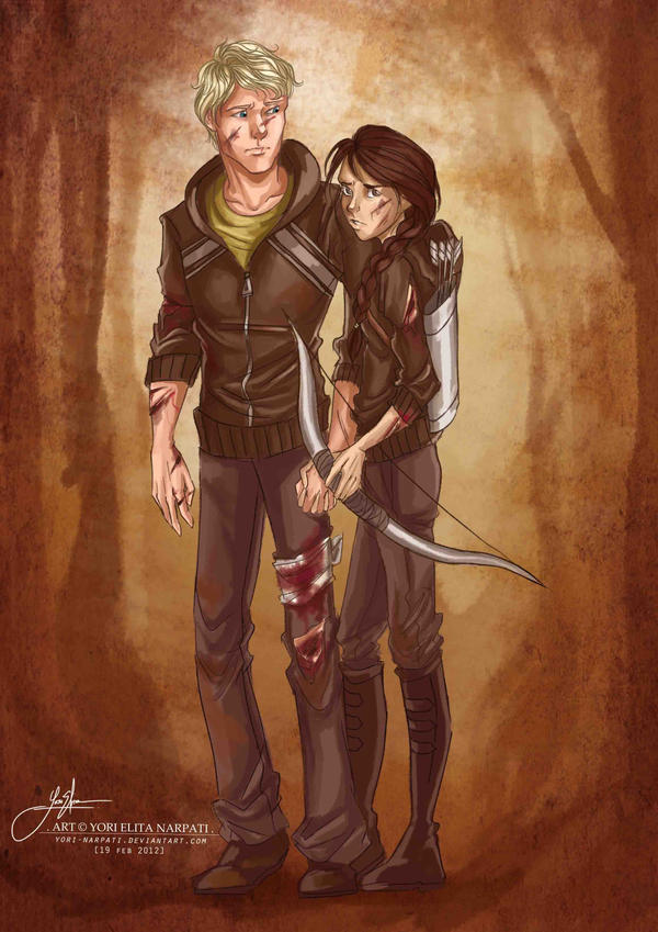 Tributes of District 12 - Colored by YoriNarpati