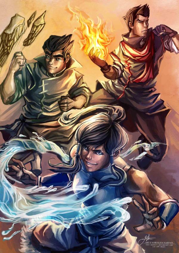 Legend of Korra by YoriNarpati