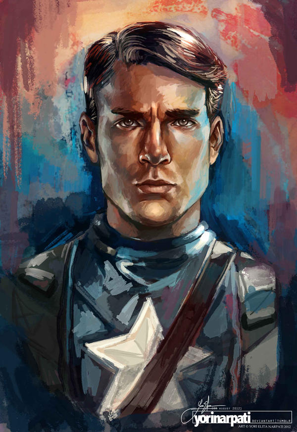 Captain America by YoriNarpati