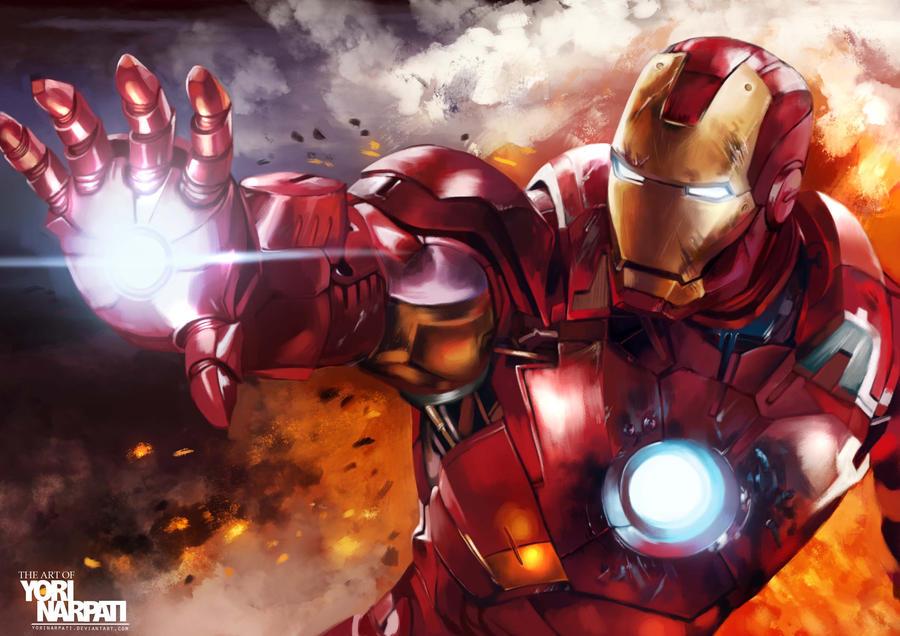 Iron Man by YoriNarpati
