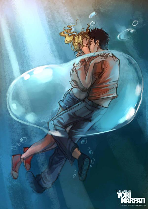 Best underwater kiss. by YoriNarpati