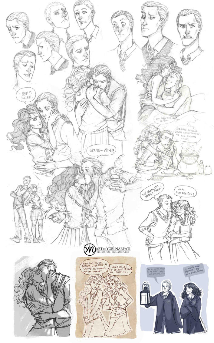 Dramione Tumblr Dump by YoriNarpati