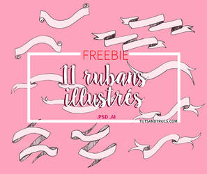 11 FREE PSD RIBBONS