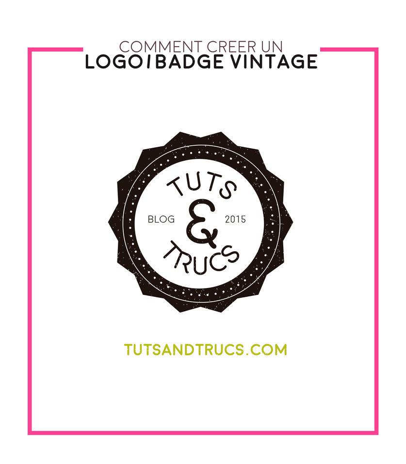 Comment creer un logo vintage by photosoma