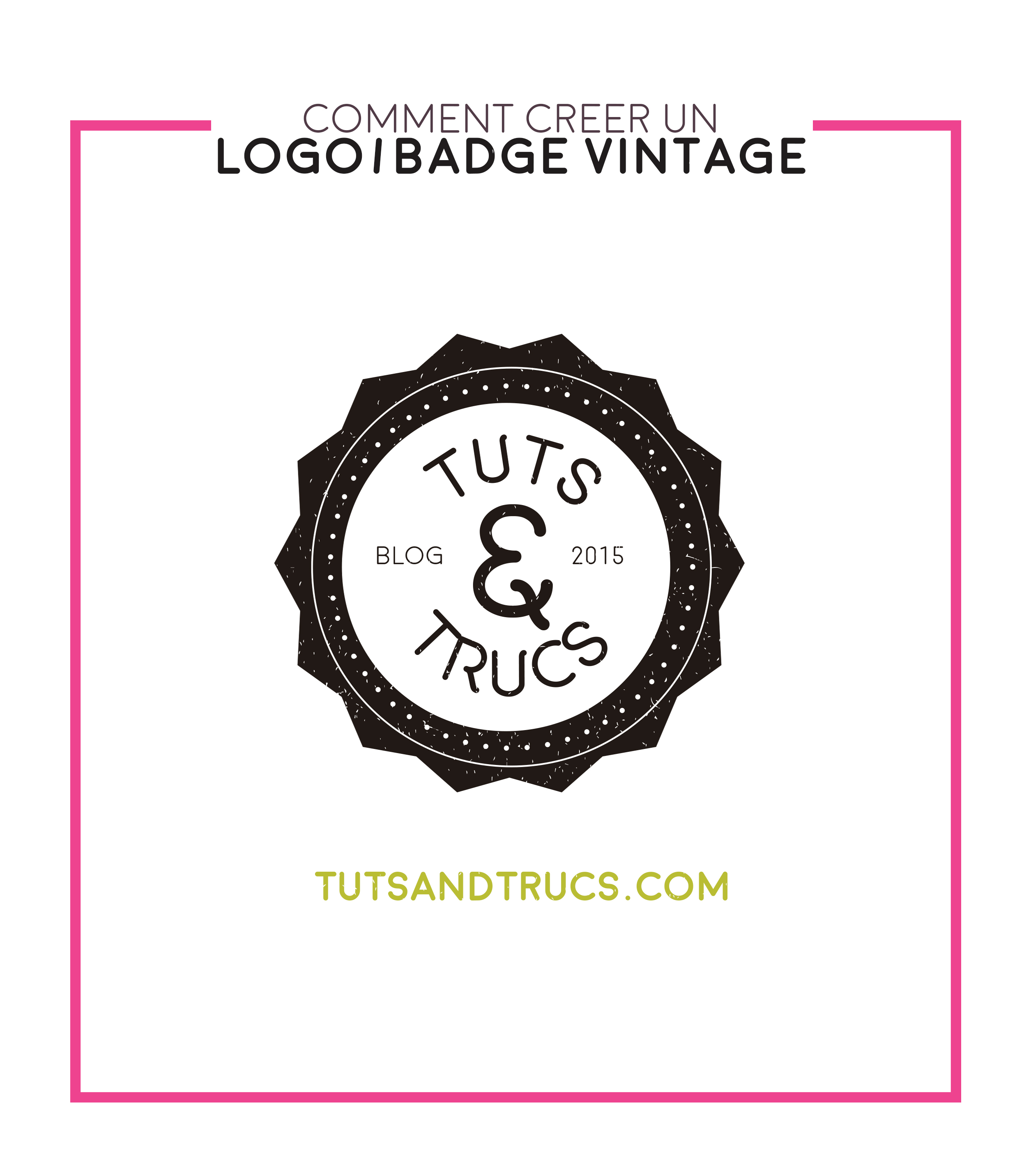 Comment creer un logo vintage by photosoma on deviantart - Comment creer un journal ...
