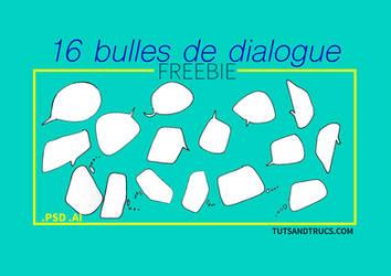 FREE bulles de dialogue / Speech balloons