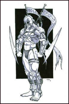 Orc warrior-Armor design