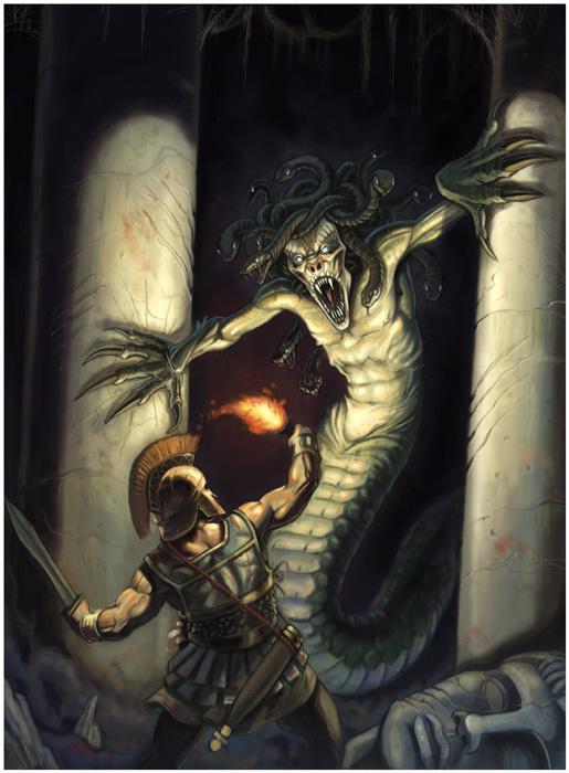 Wrath of Medusa by NathanRosario