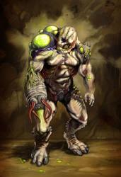 Bio-Weapon Creature by NathanRosario