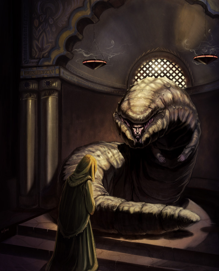 God Emperor of Dune by NathanRosario