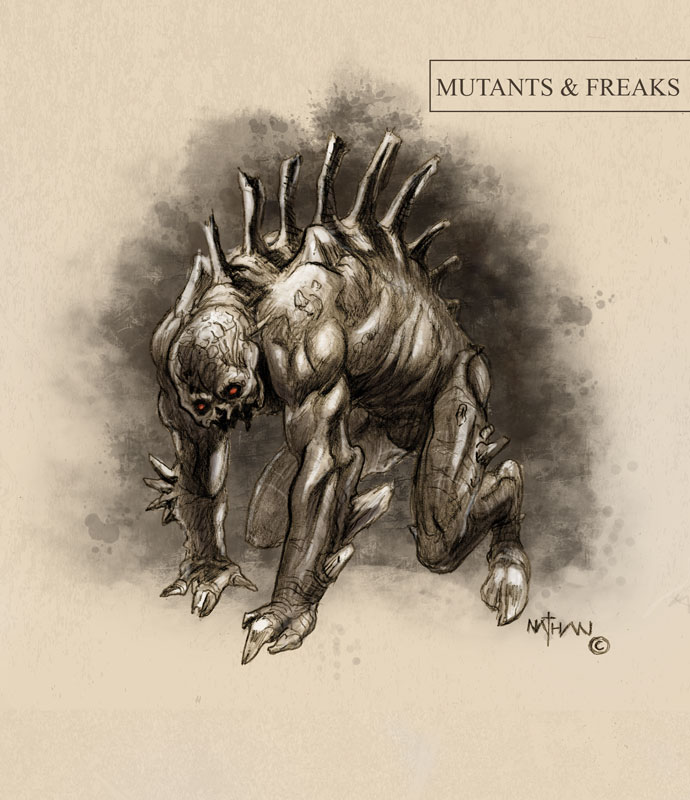 Creature concept 11 by NathanRosario