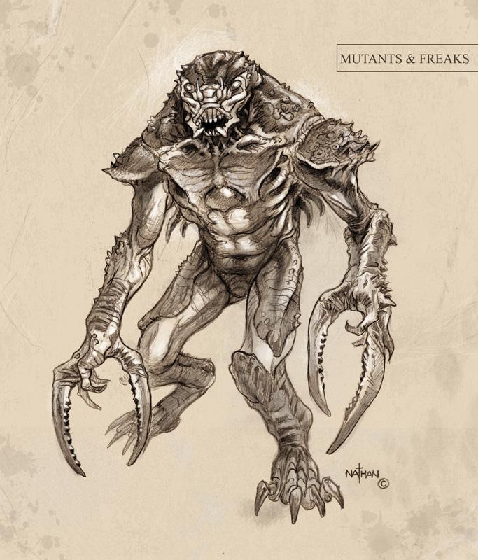 Creature Concept 12 by NathanRosario