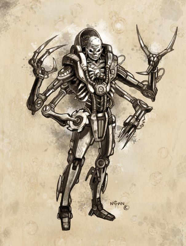 Creature concept 15 by NathanRosario