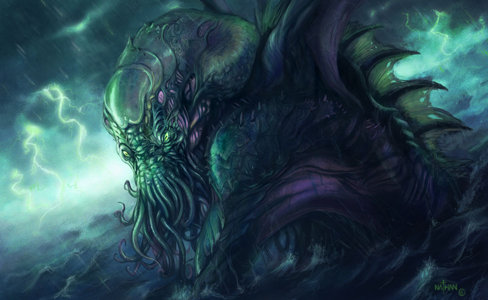 The lovecraftian art thread spacebattles forums - Eldritch wallpaper ...