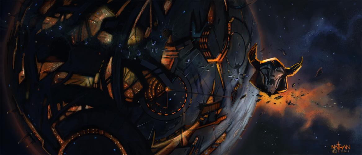 Transformers 4 Unicron Unicron by NathanRosar...