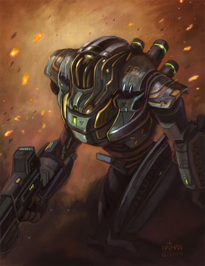 Tech-Armor by NathanRosario