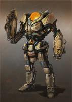 Concept - Robot by NathanRosario